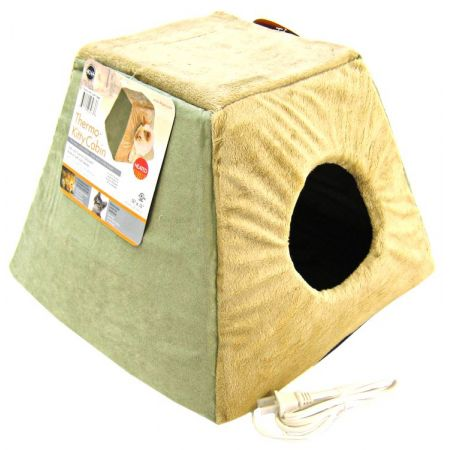 K&H Pet Products K&H Pet Products Thermo Kitty Cabin - Sage