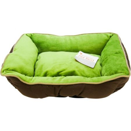 K&H Pet Products K&H Pet Products Self Warming Sleeper Lounge - Mocha & Green