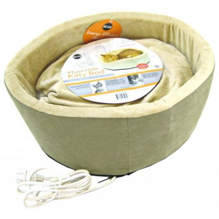K&H Pet Products K&H Pet Products Thermo-Kitty Bed - Sage