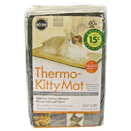K&H Pet Products K&H Pet Products Thermo-Kitty Mat - Mocha