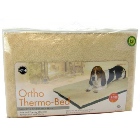 K&H Pet Products K&H Pet Products Ortho Thermo Heated Pet Bed - Green