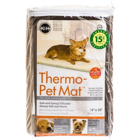 K&H Pet Products K&H Pet Products Thermo Heated Pet Mat - Mocha