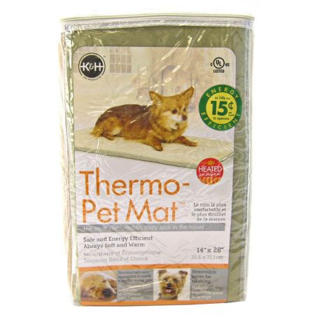 K&H Pet Products K&H Pet Products Thermo Heated Pet Mat - Sage