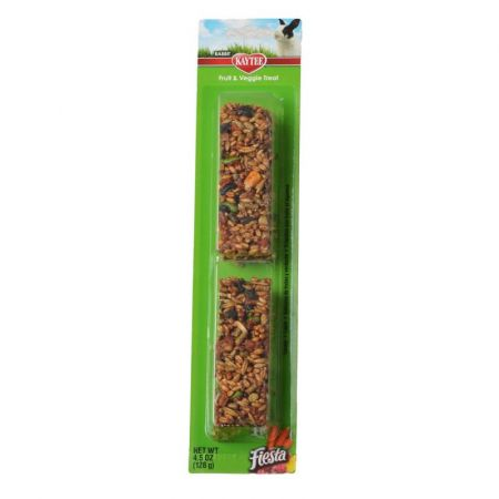 Kaytee Kaytee Fiesta Fruit & Vegetable Treat - Rabbit
