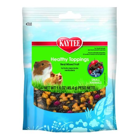 Kaytee Kaytee Fiesta Healthy Toppings Mixed Fruit - Small Animals