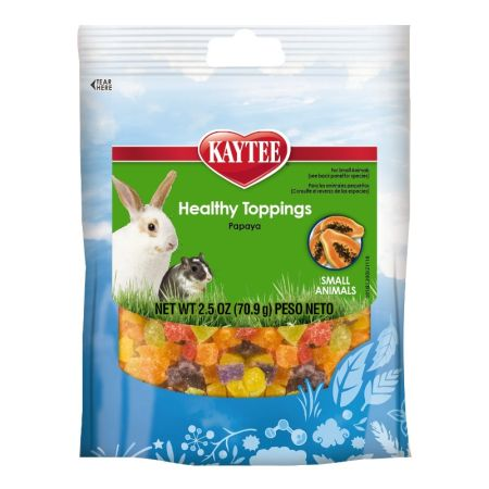 Kaytee Kaytee Fiesta Healthy Toppings Papaya - Small Animals