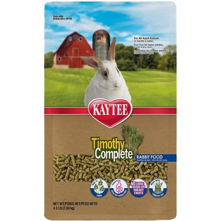 Kaytee Timothy Complete Rabbit Food alternate view 1