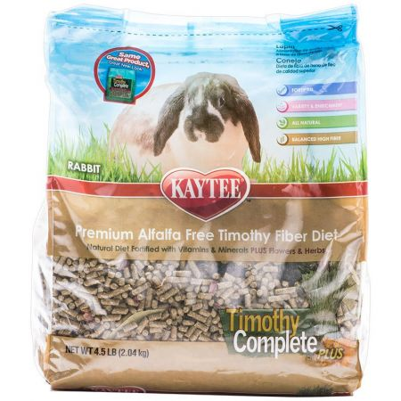 Kaytee Kaytee Timothy Complete Rabbit Food with Herbs & Flowers