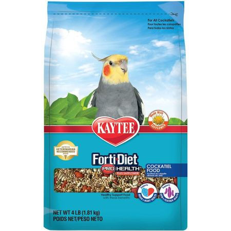 Kaytee Kaytee Forti-Diet Pro Health Cockatiel Food with Safflower