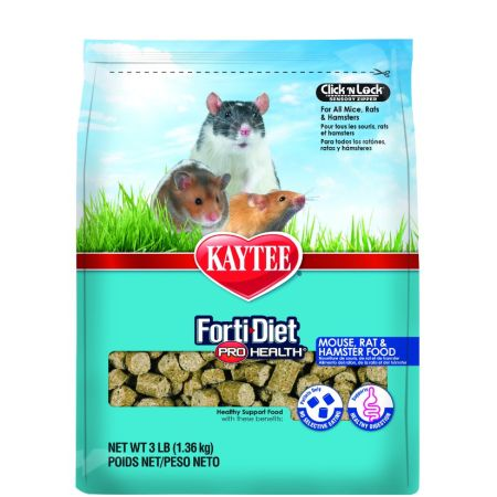Kaytee Kaytee Forti-Diet Pro Health Mouse, Rat & Hamster Food