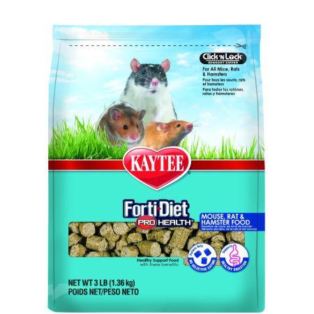 Kaytee Kaytee Forti-Diet Pro Health Mouse, Rat & Hamster Food