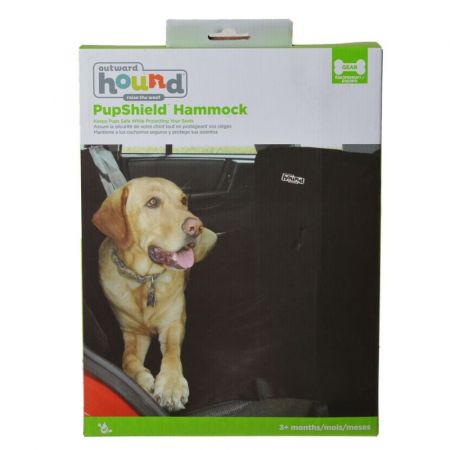Outward Hound Outward Hound Back Seat Hammock - Black