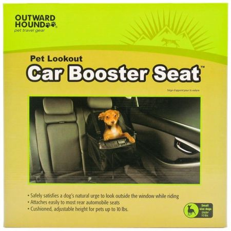 Outward Hound Outward Hound Car Booster Seat - Black
