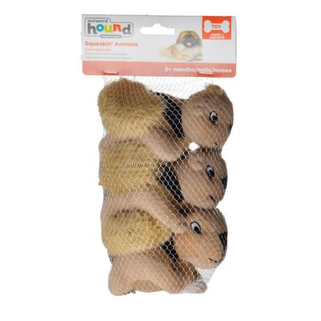 Plush Puppies Plush Puppies Plush Squeakin' Animals - Squirrels
