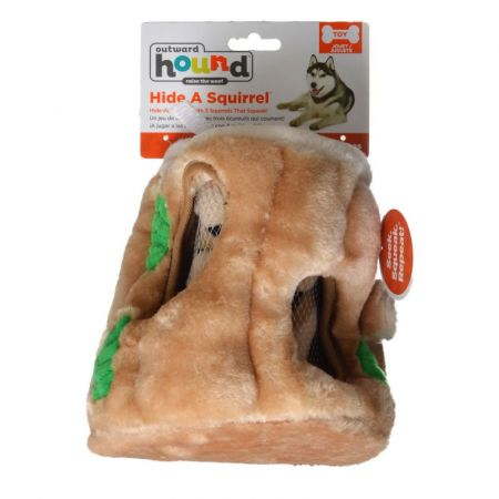 Plush Puppies Plush Puppies Plush Hide-A-Squirrel Dog Toy