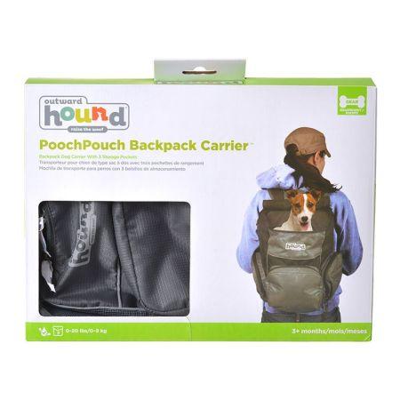 Outward Hound Backpack Carrier - Black & Blue