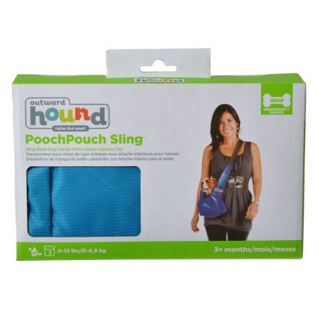 Outward Hound Outward Hound Sling-Go Pet Sling Carrier - Blue