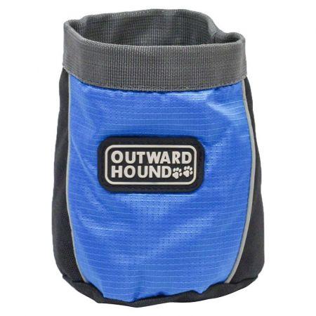 Outward Hound Outward Hound Treat 'N Train Bag - Blue & Black