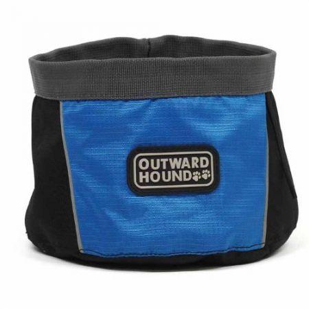 Outward Hound Outward Hound Port-A-Bowl - Blue