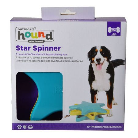 Dog Games Dog Games Star Spinner Dog Toy Puzzle