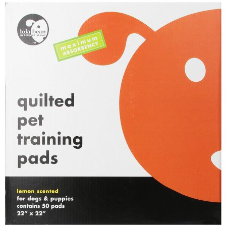 Lola Bean Lola Bean Quilted Pet Training Pads - Lemon Scent