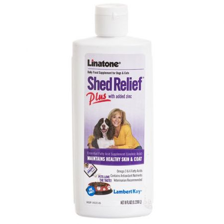 Lambert Kay Lambert Kay Linatone Shed Relief Daily Food Supplement Plus Zinc