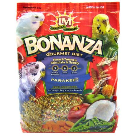 L&M Animal Farms LM Animal Farms Bonanza Parkeet Gourmet Diet