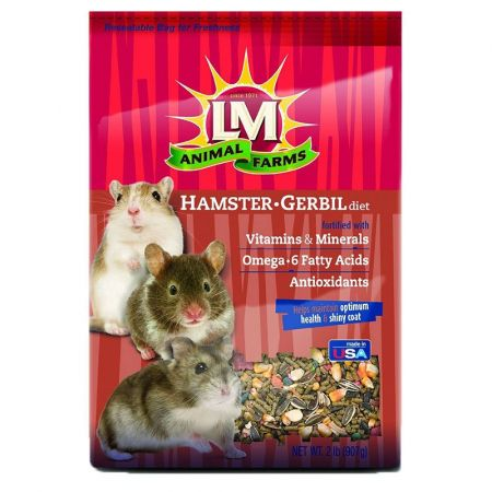 L&M Animal Farms LM Animal Farms Hamster & Gerbil Diet