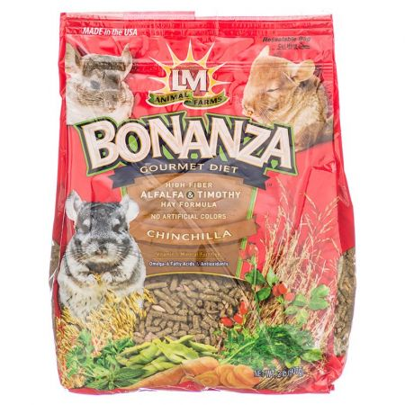 L&M Animal Farms LM Animal Farms Bonanza Chinchilla Gourmet Diet