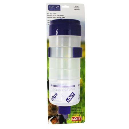 Lixit Lixit Quick Lock Flip Top Water Bottle with Valve