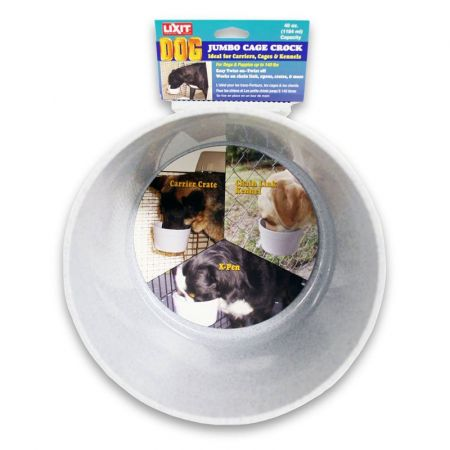 Lixit Lixit Quick Lock Crock Hanging Feeder