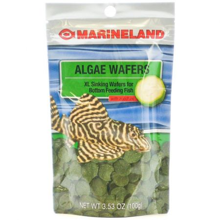 Marineland Marineland Algea Wafers with Zucchini