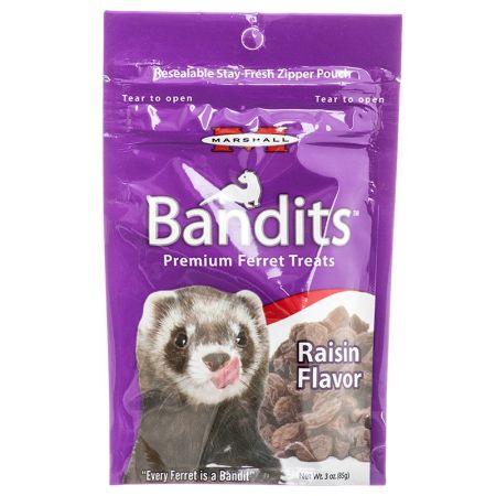 Marshall Bandits Premium Ferret Treats - Rasin Flavor