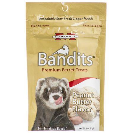Marshall Marshall Bandits Premium Ferret Treats - Peanut Butter Flavor