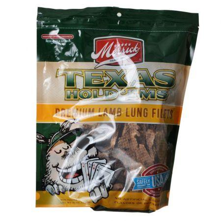 Merrick Merrick Texas Hold 'Ems - Lamb Lung Dog Treats