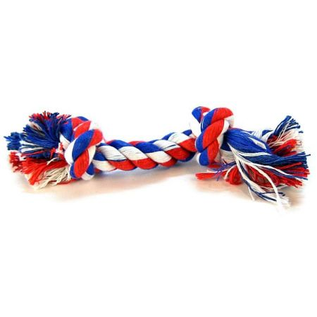 Mammoth Flossy Chews Colored Rope Bone