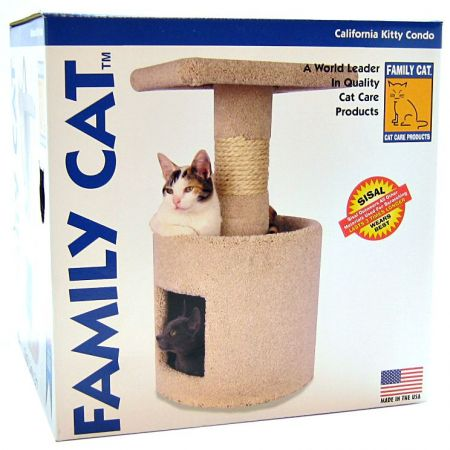 North American Pet Products North American California Kitty Condo