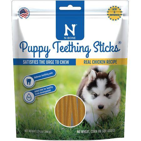 N-Bone N-Bone Puppy Teething Treats - Chicken Flavor