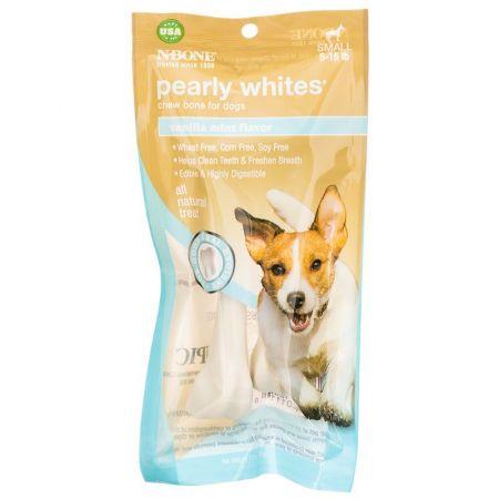 N-Bone N-Bone Pearly Whites Chew Bone - Vanilla Mint Flavor