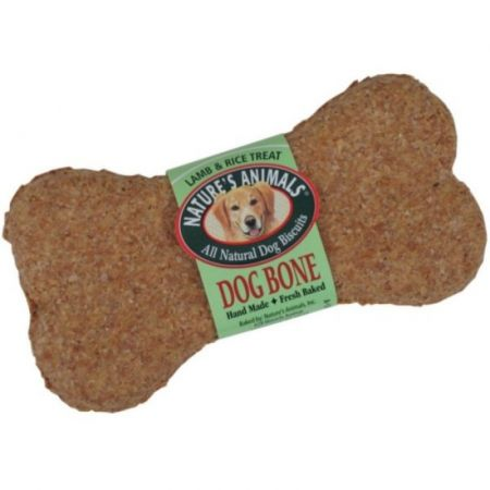 Natures Animals Natures Animals All Natural Dog Bone - Lamb & Rice Flavor