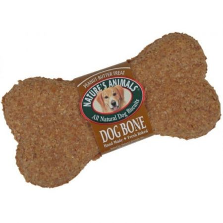 Natures Animals Natures Animals All Natural Dog Bone - Peanut Butter Flavor