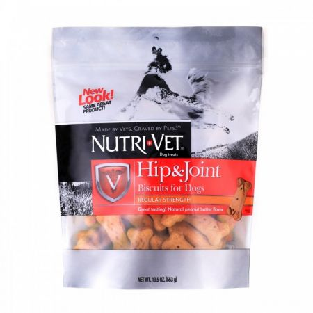Nutri-Vet Hip & Joint Biscuits for Dogs - Regular Strength alternate view 1