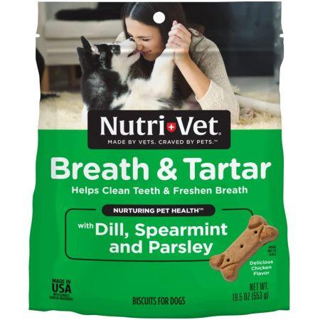 Nutri-Vet Nutri-Vet Breath & Tartar Biscuits