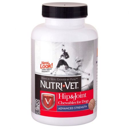 Nutri-Vet Nutri-Vet Hip & Joint Chewables for Dogs - Advanced Strength