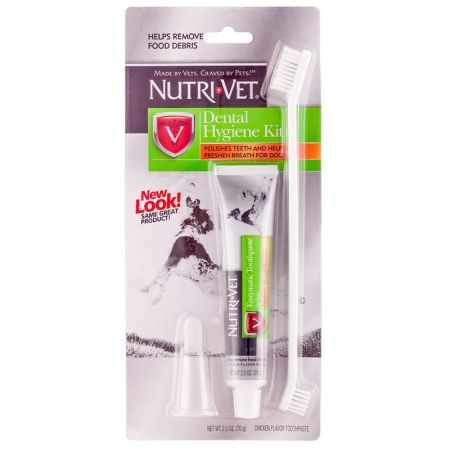 Nutri-Vet Nutri-Vet Dental Hygene Kit for Dogs