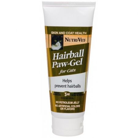 Nutri-Vet Nutri-Vet Hairball Paw Gel for Cats - Chicken Flavor