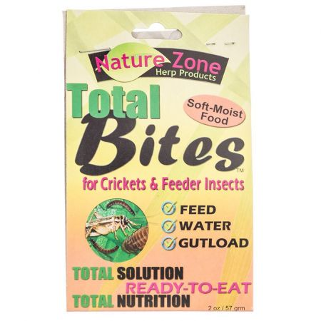 Nature Zone Nature Zone Total Bites for Feeder Insects