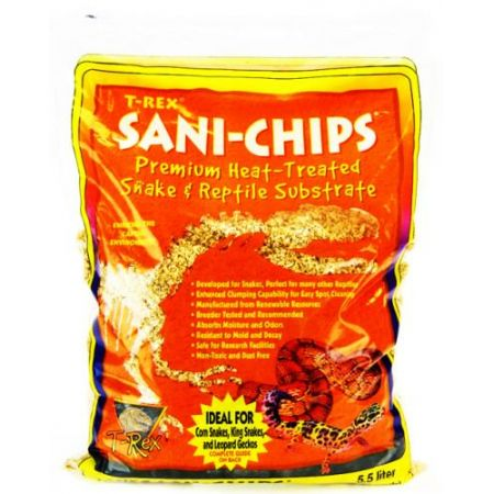 T-Rex T-Rex Sani Chips Premium Reptile Substrate