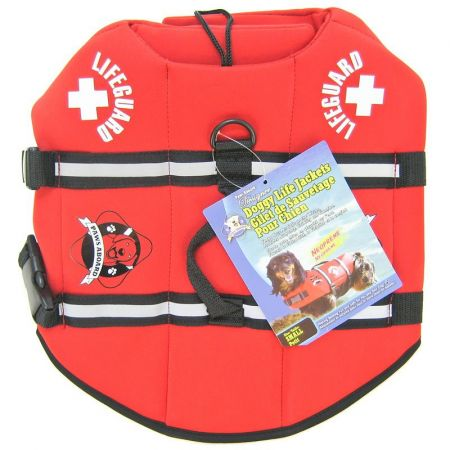Paws Aboard Paws Aboard Neoprene Doggy Life Jacket - Red