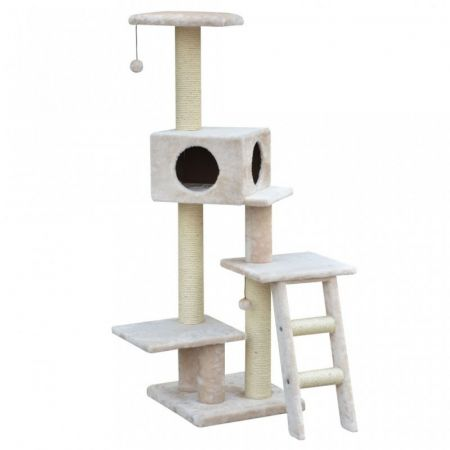 Pet Pals Pet Pals 3 Level Fleece Cat Tree